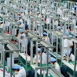 China manufacturing shrinks for second straight month