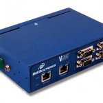 MESR400 Series 4 Port Industrial Modbus Ethernet to Serial Gateways