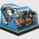 Oil-free piston compressors