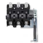 Universal disconnect switch for global panel builders
