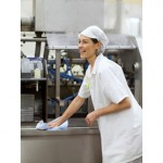 Tork's heavy duty wiping paper helps Vili's bakery stay hygiene safe and compliant