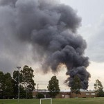 Fire destroys factory in Sydney's west