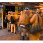 Redundant manufacturing workers search for jobs in mining sector