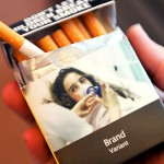 Plain packaging for cigarette manufacturers