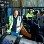 New forklift fleet lifts transport operator business