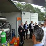 ABB Australia team opens world-first SF6 gas recycling plant