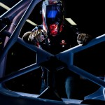 Adjustable auto-darkening helmets protect V8 supercar welders