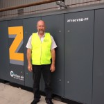 Compressor delivers quality air and lowers energy costs