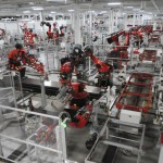 A look inside Tesla's factory