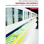 Will 2013 be Australian industry's gap year?