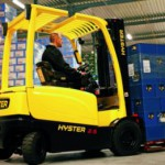 No fizzle for green forklifts