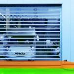 High-speed doors dominate the market