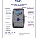 New generation Digital Belt Tension Meter SM5