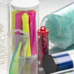 Clear plastic packaging tubes for industrial equipment