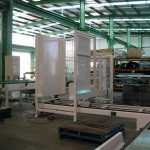Modular pallet conveyor sections suitable for various setups