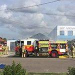 Fabricator company suffers suspicious factory fire