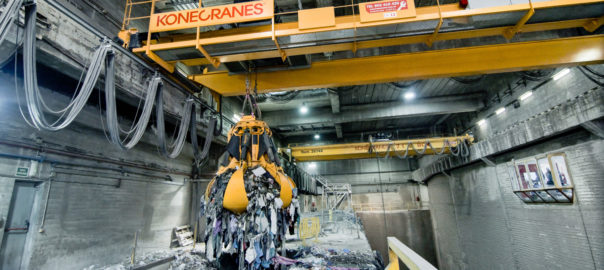 Konecranes waste-to-energy cranes, one of the broad industrial Konecranes ranges benefitting from. technologies including maintenance reducing software, electrical and mechanical products including TRUCONNECT® Remote Monitoring and Reporting