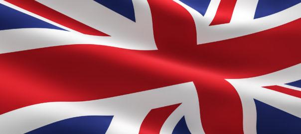 UK flag Great Britain