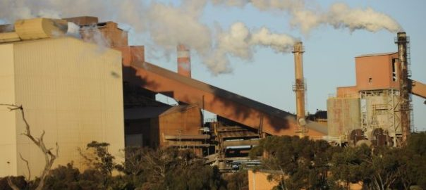 The Arrium plant in Whyalla, South Australia (Image: Fairfax)