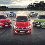 Holden range of vehicles