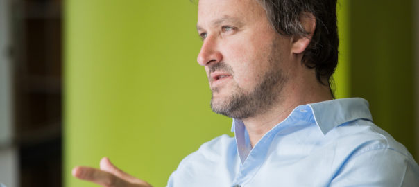 GreenSync chief executive officer Dr Phil Blythe (Business Insider)