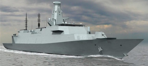SEA5000 mock-up (Australian Defence Business Review)