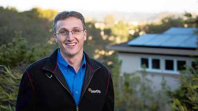 Lyndon Rive is co-founder and chief executive of California-based Solar City