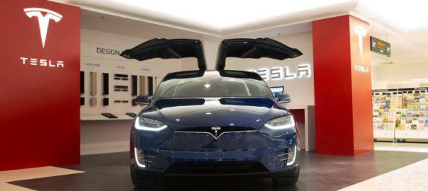 Tesla's new Adelaide store (Tesla)