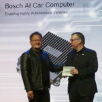 Nvidia, Bosch to produce AI self-driving car computer