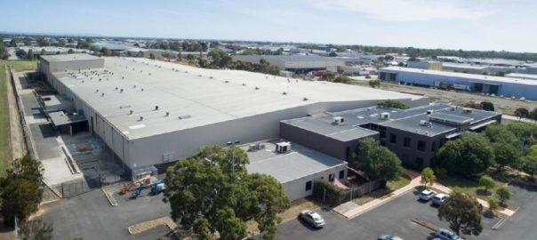 Rinnai Australia's new facility in Braeside
