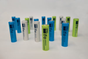 Prof Peter Talbot, and his team have developed a long life lithium battery.