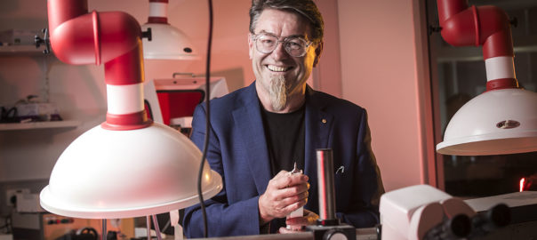 Professor Gordon Wallace of UOW. Picture credit: UOW