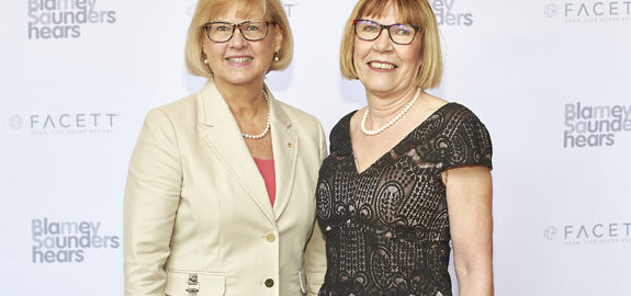 Swinburne Vice Chancellor Linda Kristjanson with co-developer Adjunct Professor Elaine Saunders