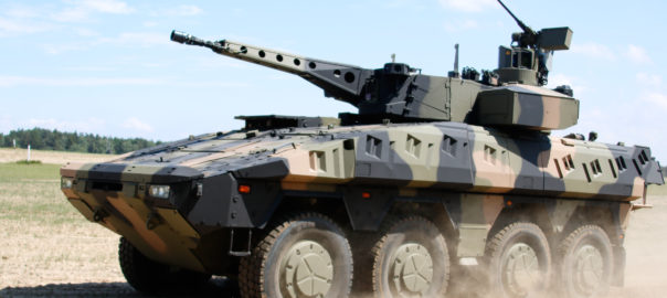 The Boxer is a state-of-the-art wheeled vehicle whose modular design permits a wide variety of mission specific configurations.Image: Rheinmetall