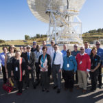 Members of CSIRO and Boeing's leadership teams recently met at CSIRO's space facility in Canberra. Source: CSIRO