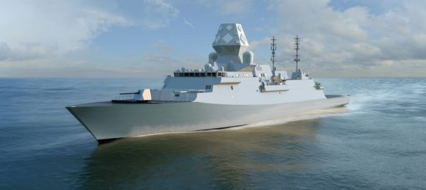 Type 26 Global Combat Ship. BAE Systems' GCS-A will be a variant of this design. Photo courtesy of: BAE Systems