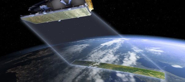 The NovaSAR satellite will provide CSIRO and the wider Australian research community with access to an advanced form of radar technology known as S-band Synthetic Aperture Radar, or S-band SAR, which provides high resolution images of Earth from space. Picture courtesy of CSIRO