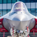 The F-35A flies its aerial demonstration debut at the 2017 Paris Air Show. Picture courtesy of Lockheed Martin