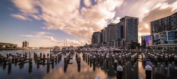 Dockland in Melbourne