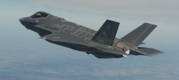 F-35A Lightning II Picture courtesy of Lockheed Martin.