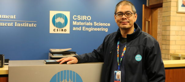 Dr Scott Martin, CSIRO Lindfield Site Leader and Group Leader – Applied Physics.