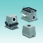 Large connector housings for high-position supply lines