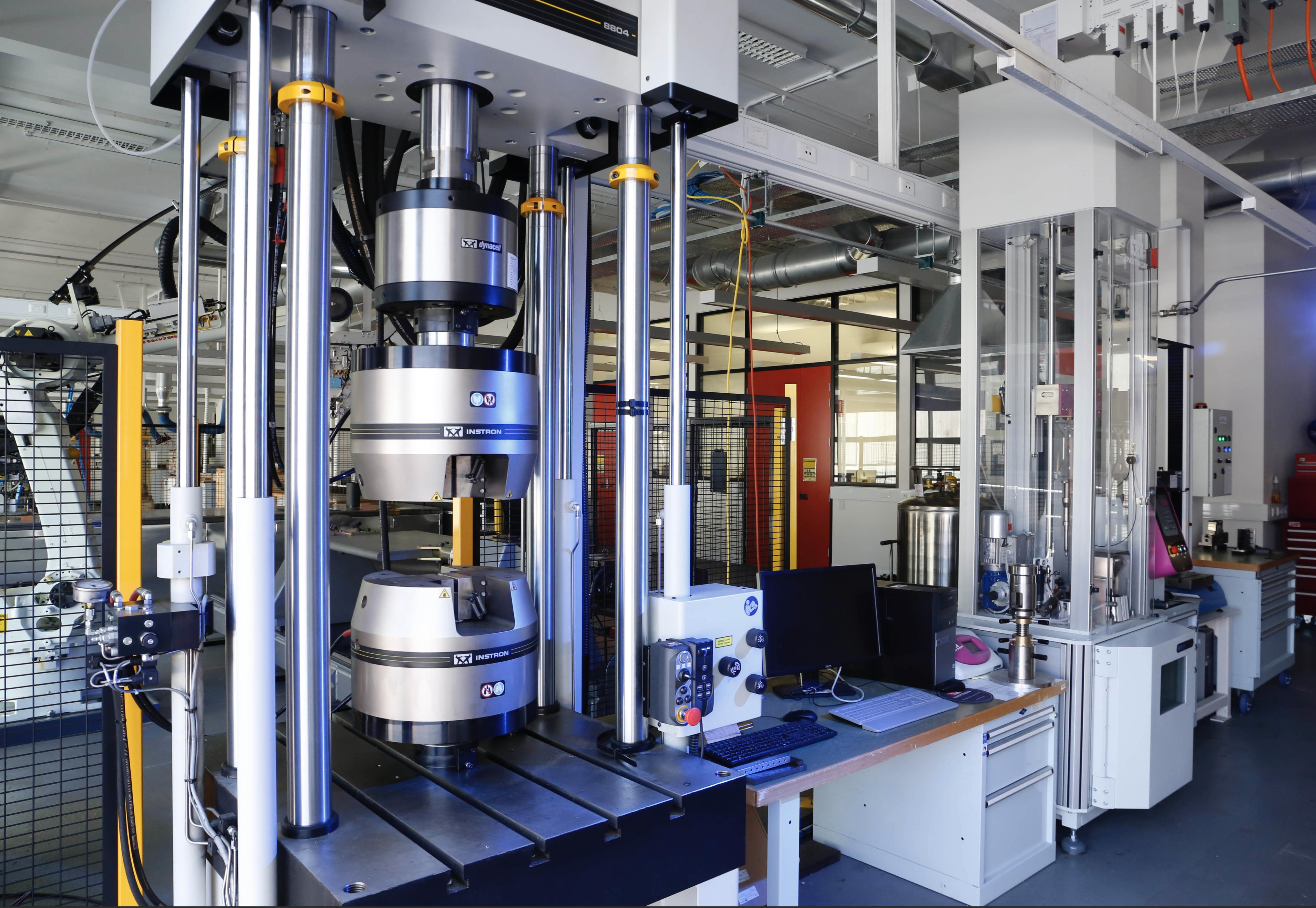 The UNSW node of AMAC has all of the facilities required for fabricating and testing of composite materials and structures.