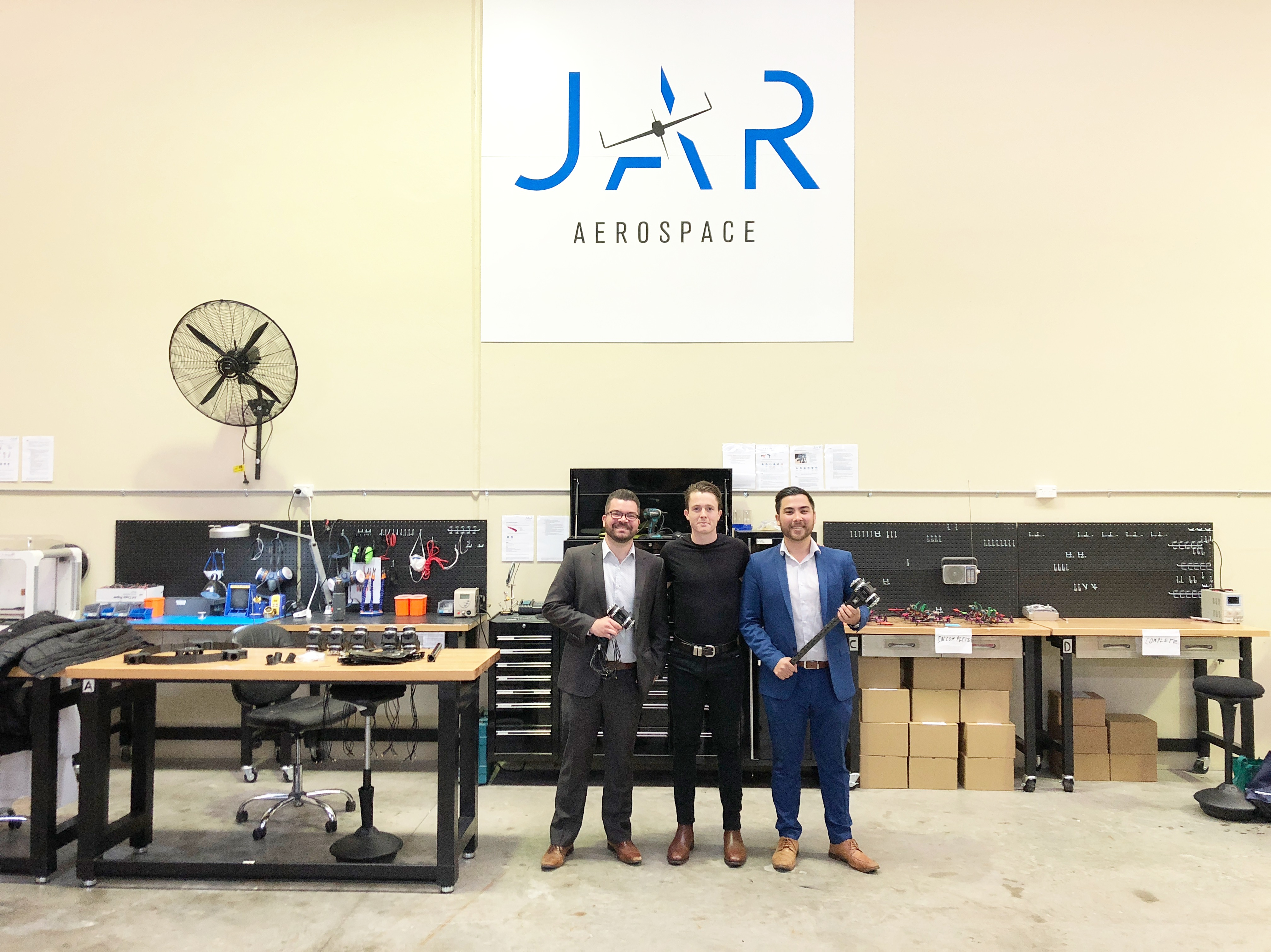 The team at their Caringbah facility in Sydney.