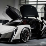 The Dendrobium D-1 electric hypercar concept was originally debuted at the 2017 Geneva Motor Show. Source: Dendrobium Automotive Limited