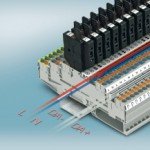 Terminal blocks for flexible emergency lighting wiring