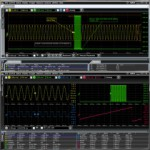 Oscilloscope analysis software separates test and analysis