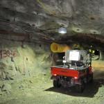 Underground vehicle crash attributed to driver error