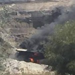 Haul truck fires followed by social media discipline
