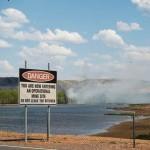 Mine fire threatening Aboriginal heritage sites